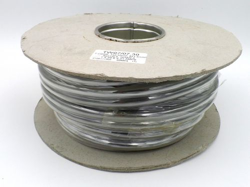 7 Core 12S Grey Thin Wall 1.5mm2 21A Trailer Cable 30m Reel